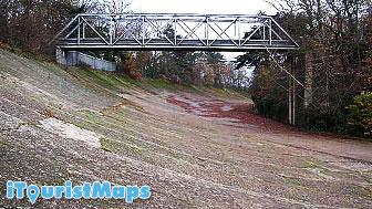 Photo of Former Brooklands Motor Race Circuit