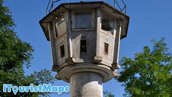 Photo of GDR Border Watchtower