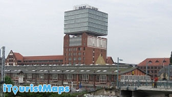 Narva Tower Berlin Germany Tourist Maps