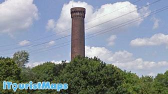 old water tower rothenburgsort hamburg germany tourist maps. Black Bedroom Furniture Sets. Home Design Ideas